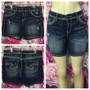 Silver Jeans SUKI High Shorts Size 32